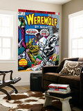 Werewolf By Night No.32 Cover: Moon Knight and Werewolf By Night Wall Mural by Don Perlin