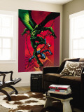 Ultimate Spider-Man No.90 Cover: Vulture and Spider-Man Wall Mural by Mark Bagley