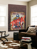 American Dream 3 Cover: American Dream Wall Mural by Ron Frenz