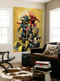 New Avengers No.34 Cover: Cage, Luke, Wolverine, Captain America and Daredevil Wall Mural by Leinil Francis Yu