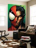 Ultimate Spider-Man No.67 Cover: Spider-Man and Wolverine Wall Mural by Mark Bagley