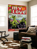 Marvel Comics Retro: My Love Comic Book Cover 14, Woodstock (aged) Wall Mural