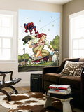 Spider-Man Loves Mary Jane Season 2 3 Cover Wall Mural by Terry Moore
