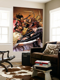 Uncanny X-Men No.510 Cover: Pryor, Madelyne, Emma Frost, Wolverine and Lady Deathstrike Wall Mural by Greg Land
