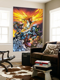 X-Men: Messiah Complex - Mutant Files Cover: Phoenix, Magik and Madrox Wall Mural by Scott Kolins