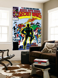 Secret Wars No.11 Cover: Dr. Doom Wall Mural by Mike Zeck