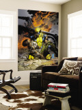 X-Men Deadly Genesis No.3 Cover: Wolverine Fighting Wall Mural by Trevor Hairsine