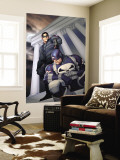 Punisher War Journal No.11 Cover: Punisher and Winter Soldier Wall Mural