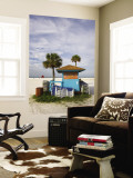 Beach Chair Rental Shack Wall Mural by Thomas Winz