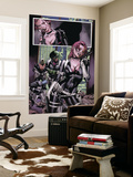 Captain America No.28 Group: Sin, Cobra, Eel and Viper Wall Mural by Steve Epting