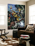 Uncanny X-Men No.493 Group: Wolfsbane, Wolverine, X-23, Warpath, Hepsibah and Caliban Wall Mural by Billy Tan