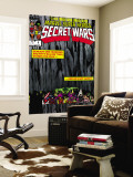 Secret Wars No.4 Cover: Hulk and Captain America Wall Mural by Bob Layton