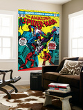 The Amazing Spider-Man No.136 Cover: Spider-Man and Green Goblin Wall Mural by Ross Andru