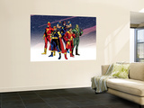 The Official Handbook Of The Marvel Universe Teams 2005 Group: Comet Wall Mural by Mike Harris