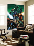 Thor 81 Cover: Thor, Iron Man and Captain America Wall Mural by Steve Epting
