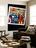 Thor 73 Group: Thor, Iron Man and Captain America Wall Mural by Scot Eaton