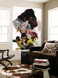 X-Men: First Class No.8 Cover: Cyclops, Marvel Girl, Angel and Gorilla Man Wall Mural