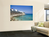 Beach on Summer Morning Wall Mural by Pamela Valente