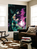 Uncanny X-Men 464 Cover: Psylocke and Marvel Girl Wall Mural by Chris Bachalo