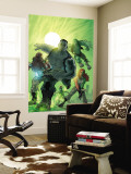 World War Hulk: Gamma Corps No.1 Cover: Griffin, Prodigy, Mess, Mr. Gideon and Grey Wall Mural by Stephane Roux
