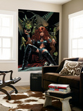 X-Men The End 5 Cover: Black Queen Wall Mural by Greg Land