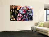Thor 600 Cover: Thor, Balder, Loki and Enchantress Wall Mural by Olivier Coipel