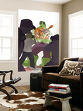 Marvel Adventures Super Heroes No.15 Cover: Tigra and Hulk Wall Mural by Sean Galloway