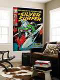 Marvel Comics Retro: Silver Surfer Comic Book Cover #11, Bitter Victory (aged) Mural