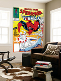 Marvel Tales: Spider-Man No.227 Cover: Spider-Man and Iceman Fighting Wall Mural by Todd McFarlane