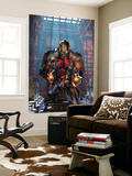 Deathlok No.1 Cover: Deathlok Wall Mural by Brandon Peterson