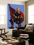Thor Annual No.1 Cover: Thor Wall Mural