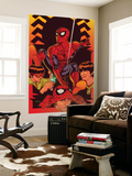 Spider-Man: With Great Power&No.5 Cover: Spider-Man, Peter Parker Wall Mural by Tony Harris