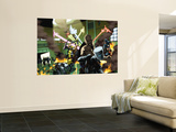 Ms. Marvel No.41 Group: Wolverine, Cage, Luke and Captain America Wall Mural by Sergio Arino