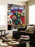 Secret Wars No.10 Cover: Dr. Doom Wall Mural by Mike Zeck