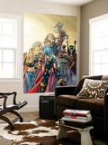 Thor No.74 Cover: Thor, Jordahl, Prince Magni, Thialfi and Loki Wall Mural by Scot Eaton