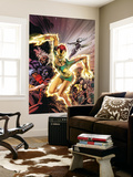 Uncanny X-Men No.457 Cover: Phoenix, X-23, Psylocke, Nightcrawler and Storm Charging Wall Mural