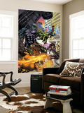 Secret Invasion: Runaways/Young Avengers No.1 Cover: Hulkling and Wiccan Wall Mural by Michael Ryan