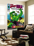 Tales to Astonish No.85 Cover: Hulk Wall Mural by Bill Everett
