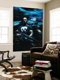 Punisher 31 Cover: Punisher Wall Mural by Tim Bradstreet