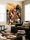 She-Hulk 34 Group: Red Guardian, Ursa Major, Darkstar and Crimson Dynamo Wall Mural by Vincenzo Cucca
