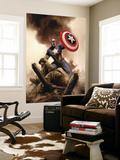 Captain America Theater Of War: America The Beautiful 1 Cover: Captain America Wall Mural by Steve Epting