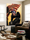 Captain America No.34 Cover: Captain America Wall Mural by Steve Epting