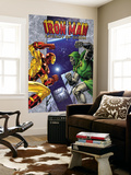 Iron Man: Legacy Of Doom 1 Cover: Iron Man and Dr. Doom Wall Mural by Ron Lim
