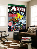 Werewolf By Night No.33 Cover: Moon Knight and Werewolf By Night Wall Mural by Don Perlin