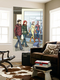 Spider-Man Loves Mary Jane 18 Cover: Spider-Man Wall Mural by David Hahn