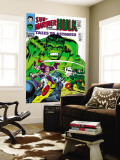 Tales to Astonish No.81 Cover: Hulk and Boomerang Wall Mural by Dick Ayers