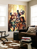 New Exiles No.14 Cover: Marvel Universe Wall Mural by Alex Garner