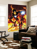 Invincible Iron Man No.2 Cover: Iron Man Wall Mural by Brandon Peterson