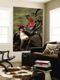 Spider-Man/Doctor Octopus: Year One No.5 Cover: Spider-Man and Doctor Octopus Wall Mural by Kaare Andrews
