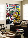 Marvel Team-Up No.133 Cover: Mr. Fantastic Wall Mural by Sal Buscema